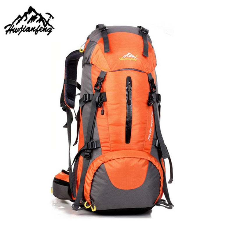 50L Outdoor Waterproof Mountaineering Backpack - New Found Deals