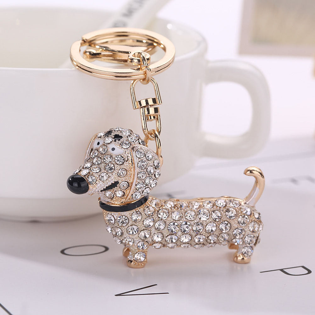 Fashion Dachshund Keychain Bag Charm - New Found Deals