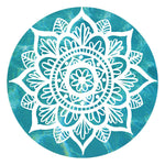 Bohemian Round Tapestry Beach Picnic Yoga Mat Towel Blanket - New Found Deals