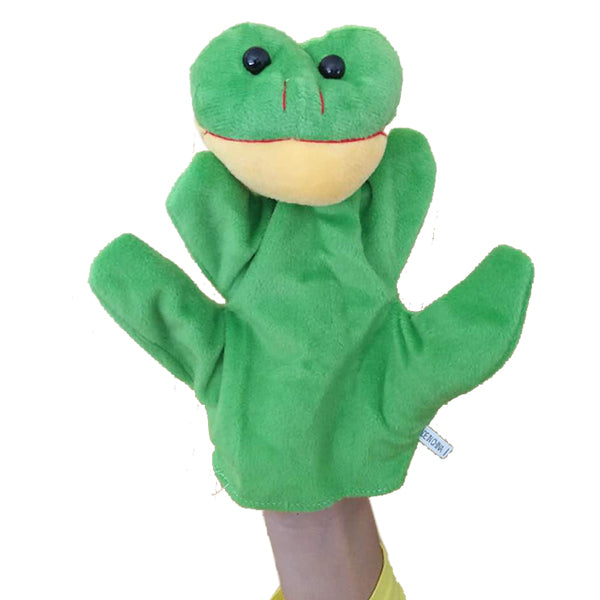 Cute Plush Cartoon Animal Hand Puppets - New Found Deals