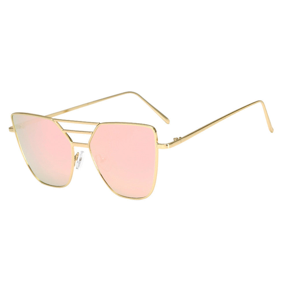 Fashion Vintage Mirror Aviator Sunglasses - New Found Deals