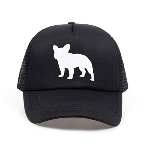 2018 new French Bulldog Letters Print Baseball Cap T - New Found Deals