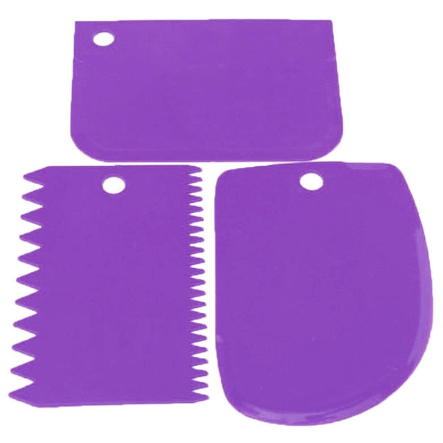 3Pcs/set Icing Fondant Spatulas - New Found Deals