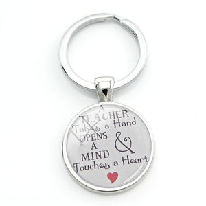 Teacher Gift Key Chain - New Found Deals