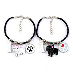 French Bulldog Charm Bracelets Bangles - New Found Deals