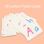26PCS/set English Letters FlashCards - New Found Deals