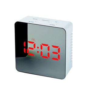Mirror Alarm Clock - New Found Deals