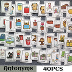 Set of English Synonym/Antonym Flashcards - New Found Deals