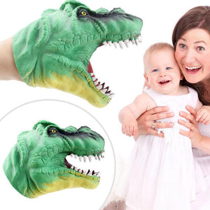 Soft Dinosaur Hand Puppet - New Found Deals