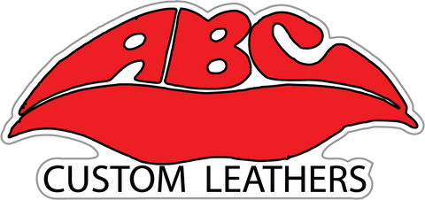 ABC Leathers Sticker