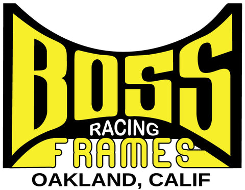 BOSS Racing Frames Sticker