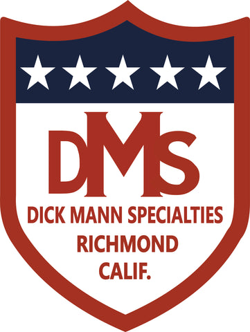 DICK MANN SPECIALTIES DMS STICKERS