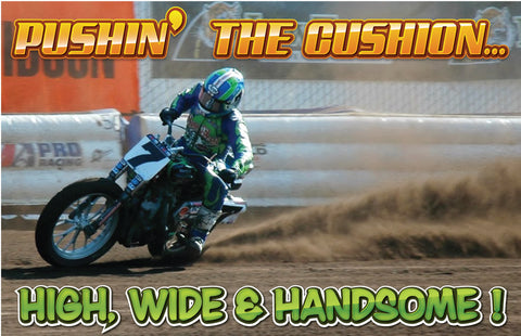 Pushin' the Cushion Poster