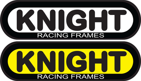KNIGHT RACING FRAMES STICKERS