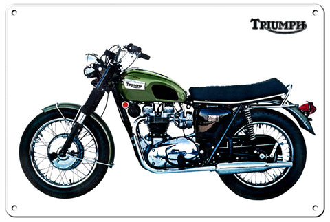 Triumph Motorcycle Classic British Motorcycle Sign ITEM: RG107B