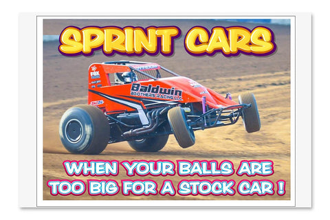 SPRINT CARS BIG BALLS 1