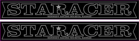 STARACER  FRAMES SWING ARM STICKERS (PAIR)