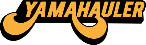 YAMAHAULER STICKERS in 3 SIZES 2 COLORS