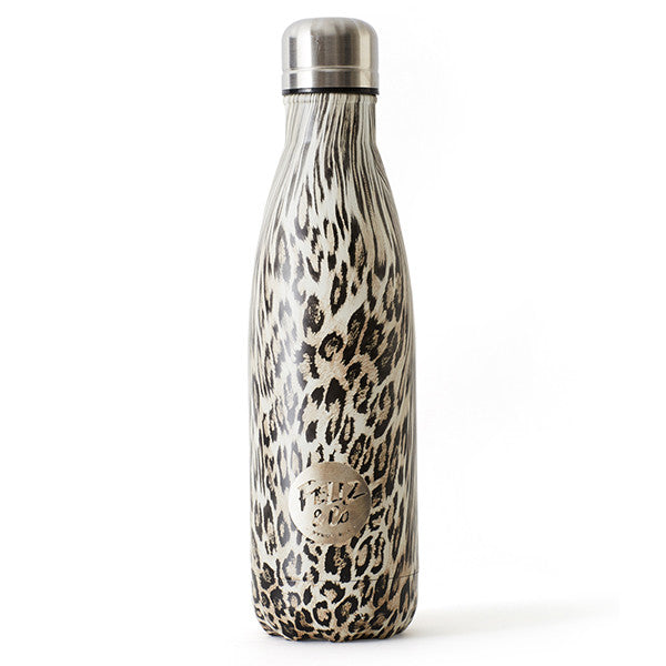 Feliz & Co Water Bottle - Leopard 500ml - Barefoot Blvd