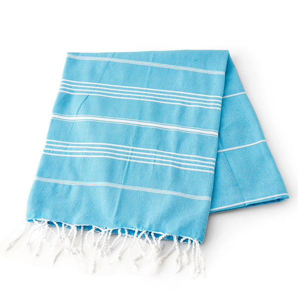Feliz & Co Lighthouse Towel - Turquoise - Barefoot Blvd