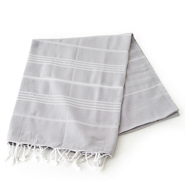 Feliz & Co Lighthouse Towel - Grey - Barefoot Blvd
