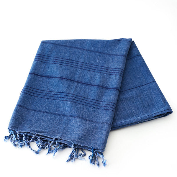 Feliz & Co Stonewashed Towel - Blue - Barefoot Blvd