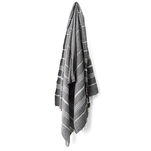 Feliz & Co Lighthouse Towel - Black - Barefoot Blvd