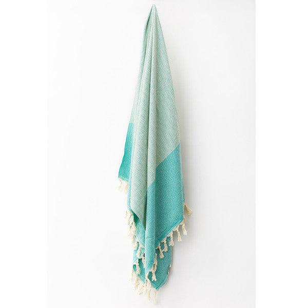 Feliz & Co Lennox Towel - Green - Barefoot Blvd