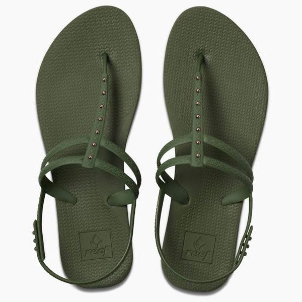 Reef Escape Lux T Stud - Forest - Barefoot Blvd
