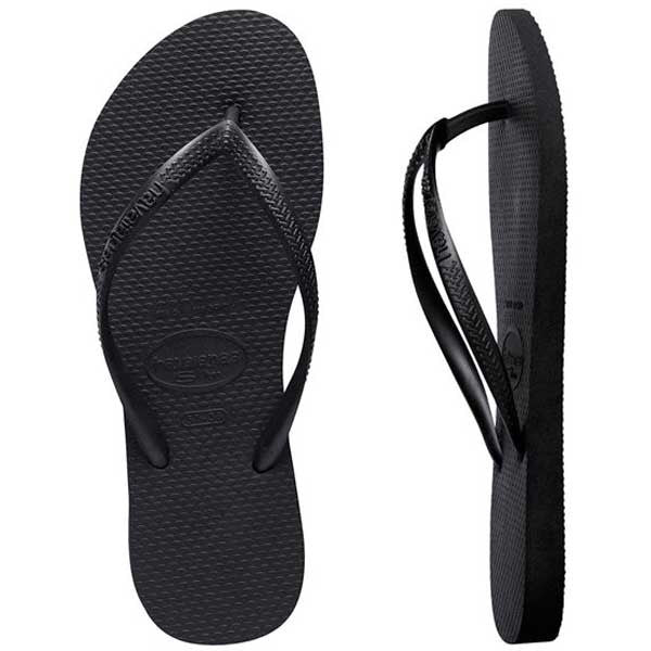 Havaianas Slim Basic - Black - Barefoot Blvd