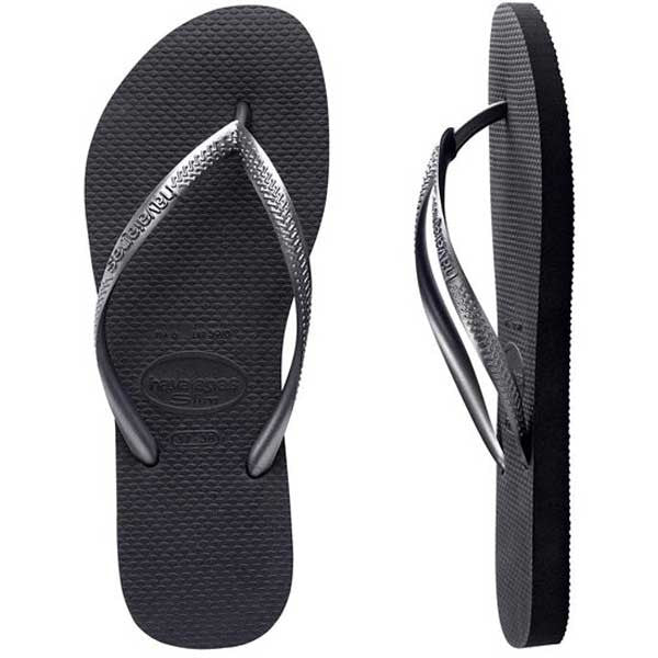 Havaianas Slim Metallic - Grey/Graphite - Barefoot Blvd