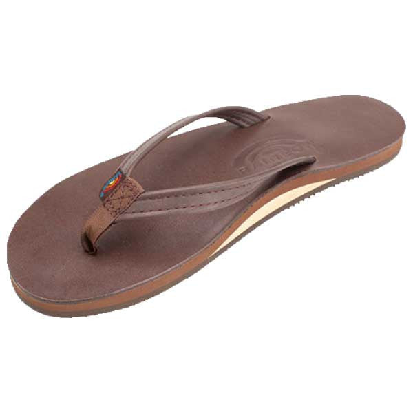 Rainbow Classic Leather - SL Narrow Mocha W - Barefoot Blvd