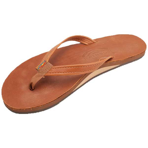 Rainbow Classic Leather - SL Narrow Tan W - Barefoot Blvd