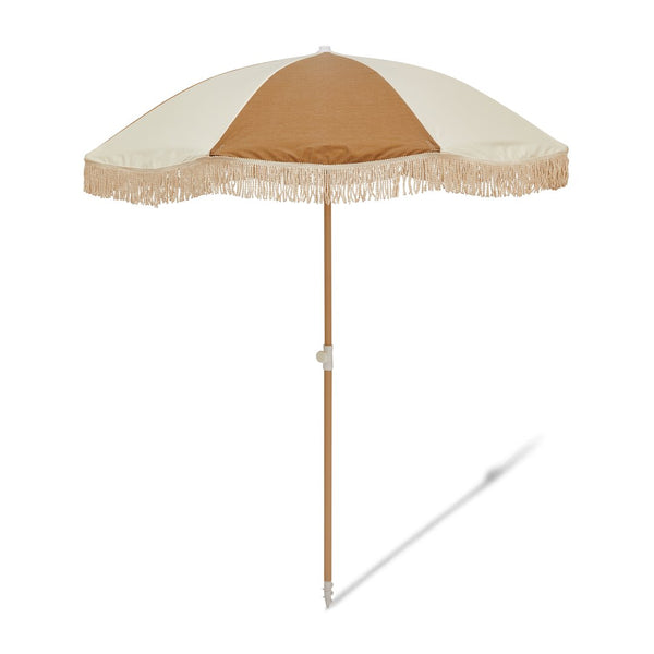 Salty Shadows Beach Umbrella - Goldie