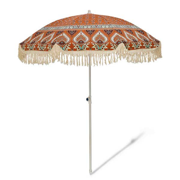 Salty Shadows Beach Umbrella - Nomad - Barefoot Blvd
