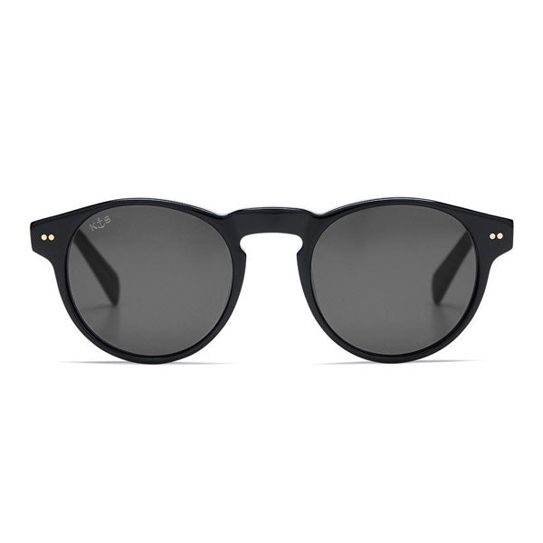 Kapten & Son Berkley Sunglasses - Gloss All Black - Barefoot Blvd