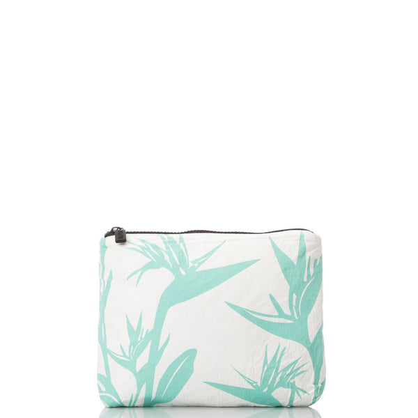 LeMu Small Pouch - Birds In Paradise - Pool