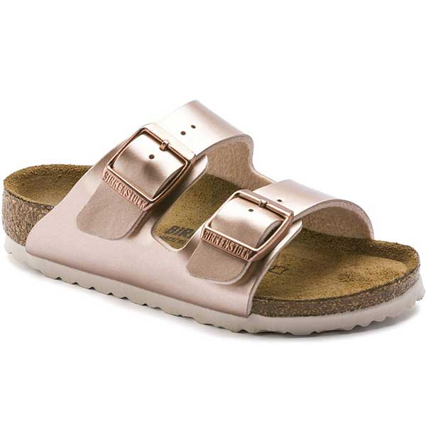 Birkenstock Arizona BF - Metallic Copper Kids - N