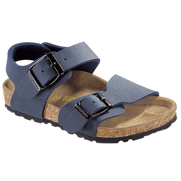 Birkenstock New York BF - Nu Navy Kids - N - Barefoot Blvd