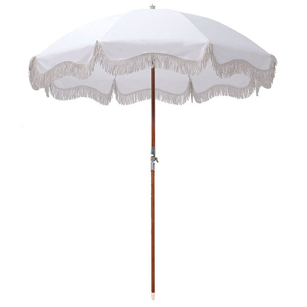 Business & Pleasure Premium Umbrella - Antique White - Barefoot Blvd