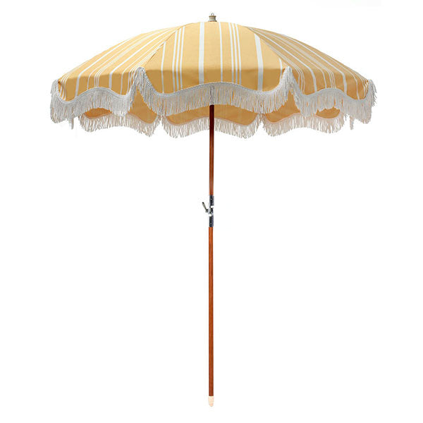 Business & Pleasure Premium Umbrella - Vintage Yellow - Barefoot Blvd