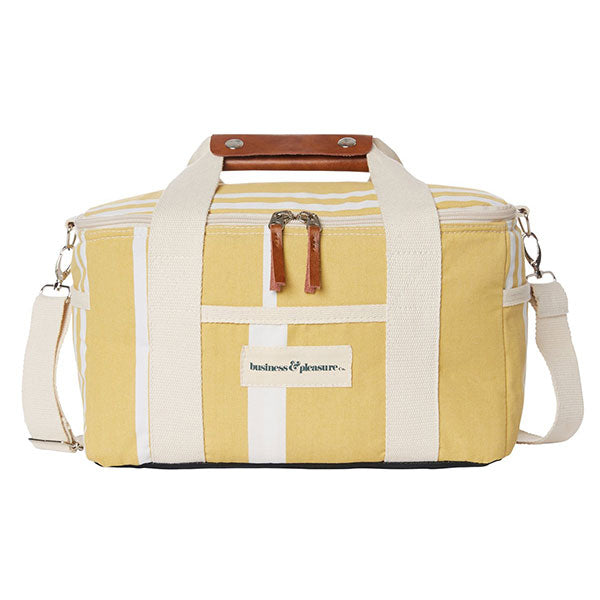 Business & Pleasure Premium Cooler - Vintage Yellow - Barefoot Blvd
