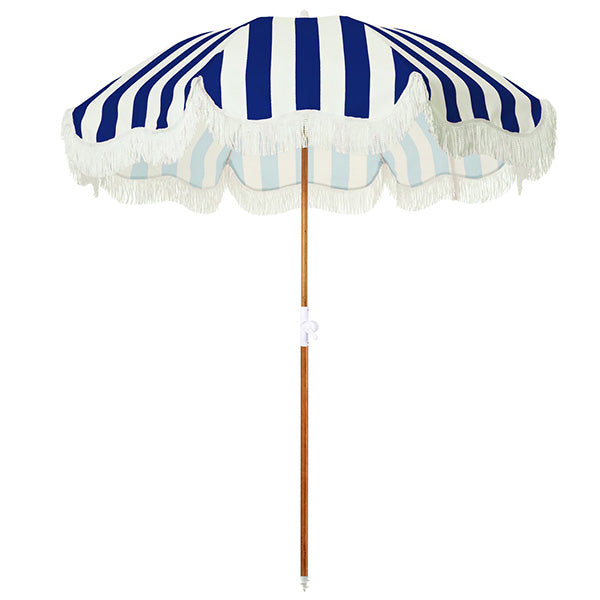 Business & Pleasure Holiday Umbrella - Navy Stripe