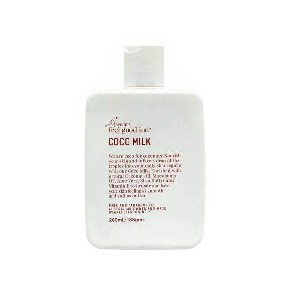 We are Feel Good - Coco Milk - 200ml - Barefoot Blvd