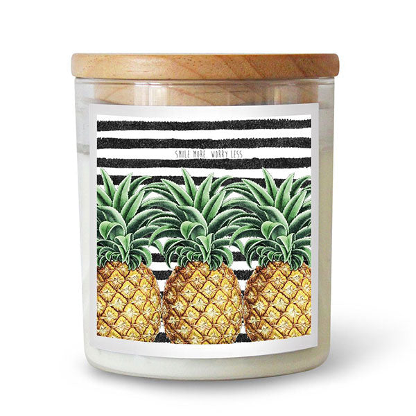 The Commonfolk Collective Ourlieu Pineapples Candle - Barefoot Blvd