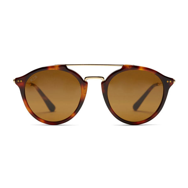 Kapten & Son Fitzroy Sunglasses - Tortoise Brown - Barefoot Blvd