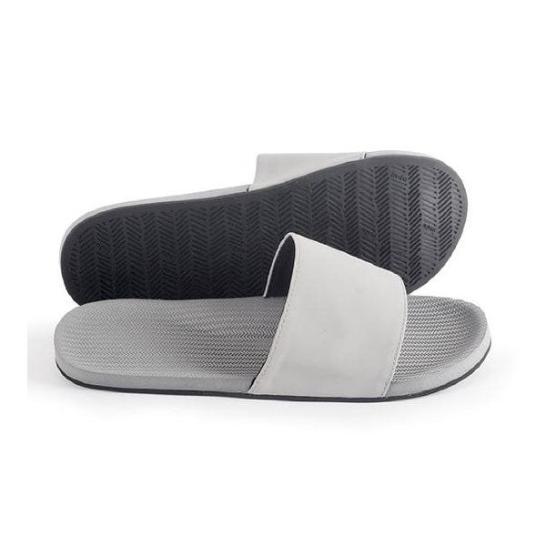 Indosole Mens Essential Slide - Granite - Barefoot Blvd