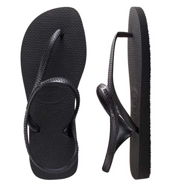 Havaianas Flash Urban - Black - Barefoot Blvd