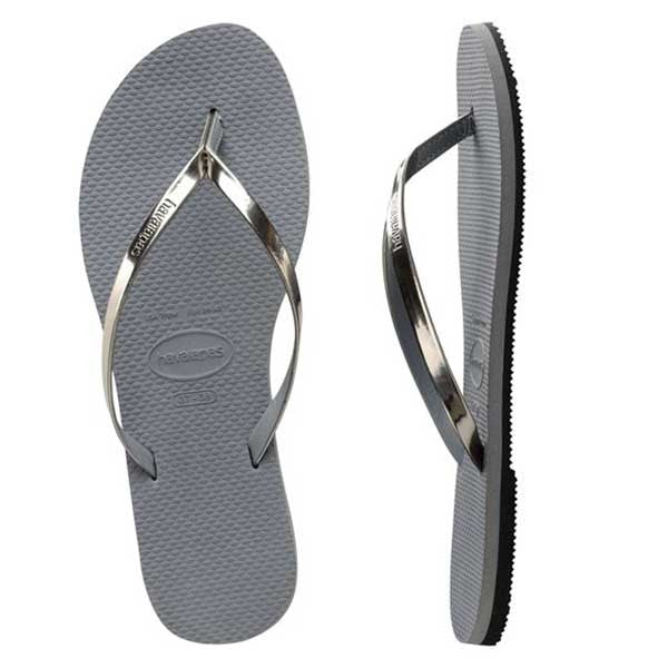 Havaianas You Metallic - Steel Grey - Barefoot Blvd