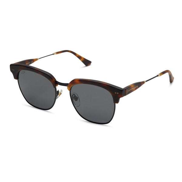 Kapten & Son Havana Sunglasses - Matt Tortoise Summernight Black - Barefoot Blvd